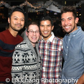 Billy Bustamante, Peyton Royale, Christopher Vo and Tim Wildin. Photo by Lia Chang