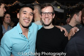 Chris Kong and Will Curry. Photo by Lia Chang