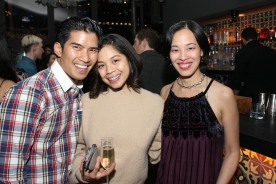 Christopher Vo, Eva Noblezada and Lia Chang. Photo by Garth Kravits