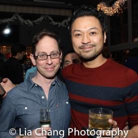 Garth Kravits and Billy Bustamante. Photo by Lia Chang