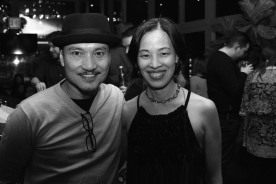 Jon Jon Briones and Lia Chang. Photo by Garth Kravits