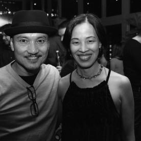 Jon Jon Briones and Lia Chang. Photo by Garth Kravits