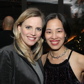 Katie Rose Clarke and Lia Chang. Photo by Garth Kravits