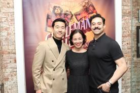 Daniel K. Isaac, Lia Chang, Juan Francisco. Photo by Garth Kravits