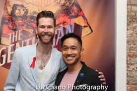 Philip Dawkins and Bryan Bosque. Photo by Lia Chang