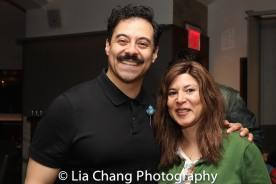 Juan Francisco Villa and Cori Thomas. Photo by Lia Chang