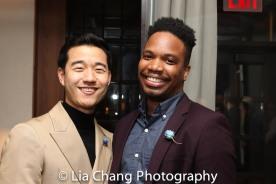 Daniel K. Isaac and Keelay Gipson. Photo by Lia Chang