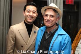 Daniel K. Isaac and David Greenspan. Photo by Lia Chang