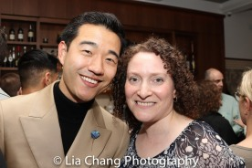 Daniel K. Isaac and casting director Karie Koppel. Photo by Lia Chang