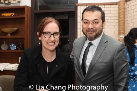 Maricha Miles and David Shih. Photo by Lia Chang