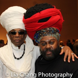 André De Shields and Tyrone Davis. Photo by Lia Chang