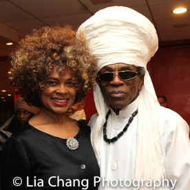 Angel Rose and André De Shields. Photo by Lia Chang