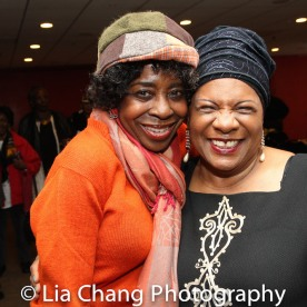 Marjorie Johnson and Tina Fabrique. Photo by Lia Chang