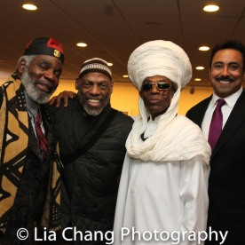 Rome Neal, Adrian Bailey, André De Shields. Photo by Lia Chang