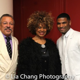 Longineu Parsons, Angel Rose and Jermaine Coles. Photo by Lia Chang