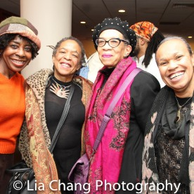 Marjorie Davis, Mickey Davidson, Ellyn Marshall and Maria E. Nelson. Photo by Lia Chang