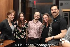 Juan Francisco Villa and his guests. Photo by Lia Chang