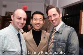 Ben Izzo, Daniel K. Isaac and Eric Sweeney. Photo by Lia Chang