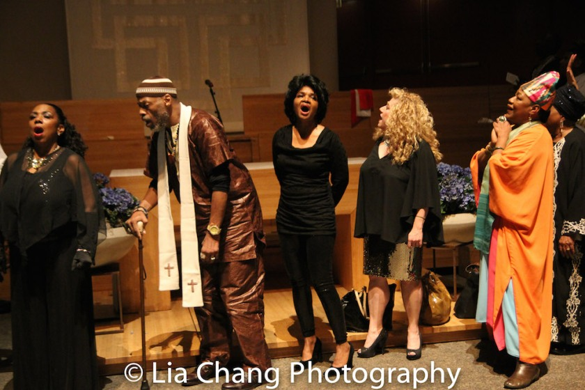 Gabrielle Goodman, Adrian Bailey, Cynthia Scott, Susan Agin and Natalie Carter-Prince. Photo by Lia Chang