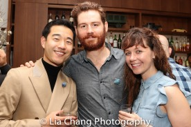 Daniel K. Isaac, Ryan Bourque and Emily Casey. Photo by Lia Chang