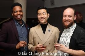 Keelay Gipson, Daniel K. Isaac and Mike Walkup. Photo by Lia Chang