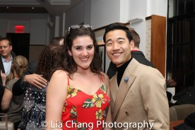 Maite Zakia and Daniel K. Isaac. Photo by Lia Chang