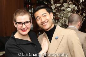 Jess Watkins and Daniel K. Isaac. Photo by Lia Chang