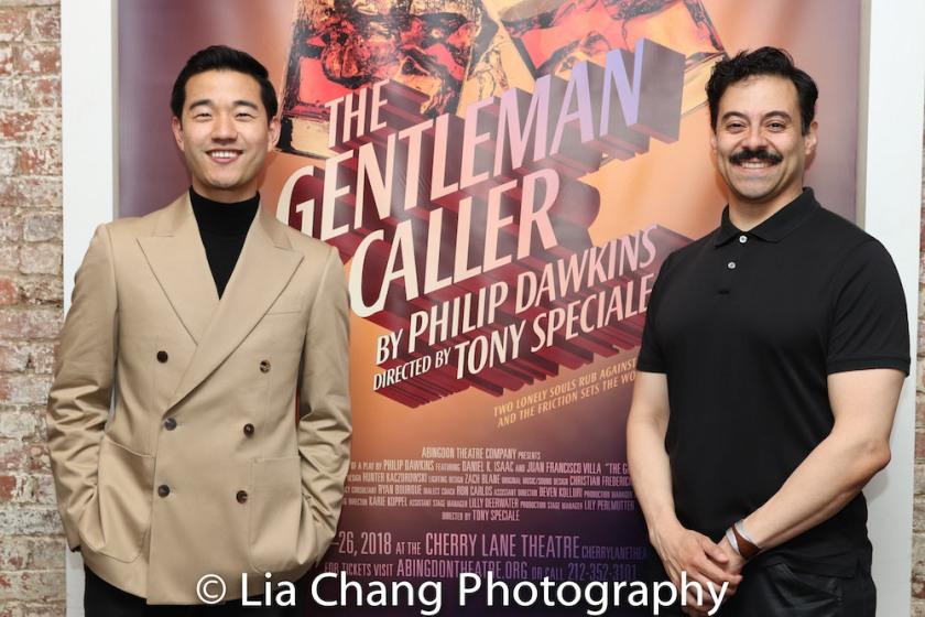 Daniel K. Isaac and Juan Francisco Villa. Photo by Lia Chang