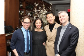 Garth Kravits, Lia Chang, Daniel K. Isaac, Tony Speciale. Photo by Jess Watkins