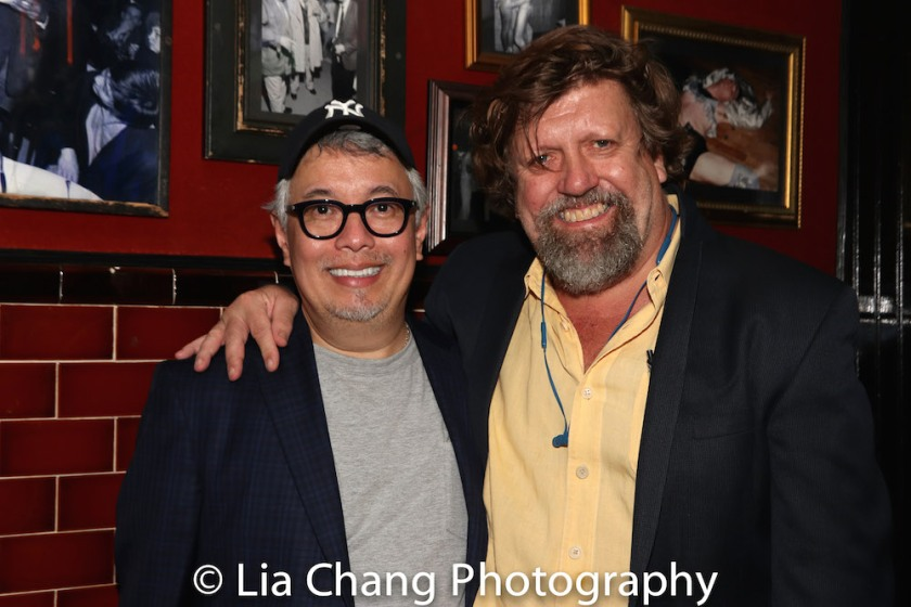 Ralph Pena and Oskar Eustis. Photo by Lia Chang