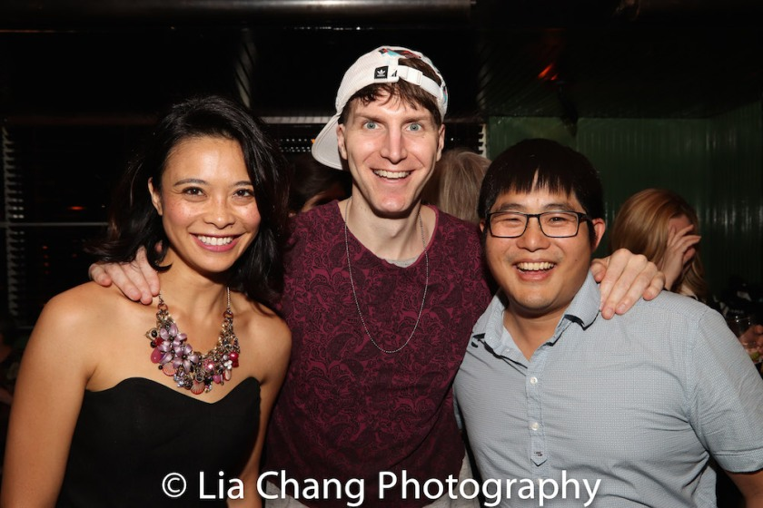 L to R: Tiffany Villarin, Alex Breaux, Michael Lew. Photo by Lia Chang