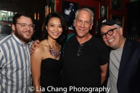 L to R. Christopher Oscar Peña, Tiffany Villarin, Philip Himberg, Ralph Pena. Photo by Lia Chang