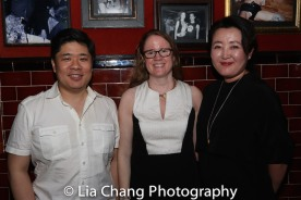Wilson Chin, Miriam Crowe, Junghyun Georgia Lee. Photo by Lia Chang