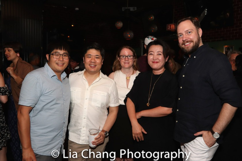 Michael Lew, Wilson Chin, Miriam Crowe, Junghyun Georgia Lee, Moritz von Stuelpnagel. Photo by Lia Chang