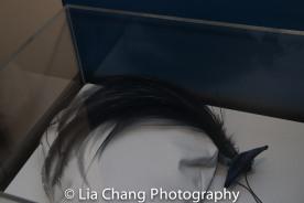 William J. Hair ornament ca. 1960 Feathers, fabric, metal Courtesy Louise Doktor; William J. Pearl and rhinestone hat pin, ca. 1960 Metal, rhinestones, faux pearl Courtesy John Kurdewan. Photo by Lia Chang