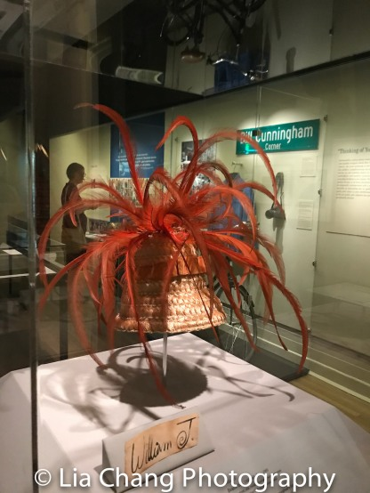 William J. Beach hat, 1960; label, ca: 1960 Raffia, velvet silk, rooster feathers, wire, grosgrain Purchase, Coaching Club Acquisitions 2017.63.1-2