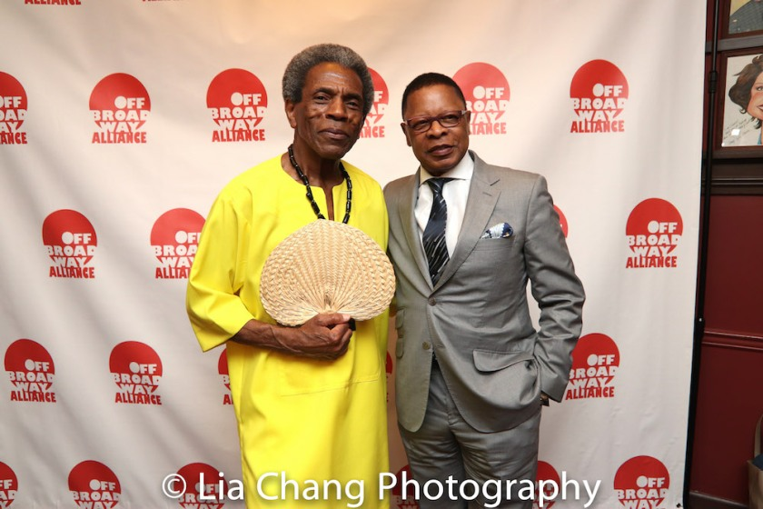 André De Shields and producer Stephen Byrd. Photo by Lia Chang