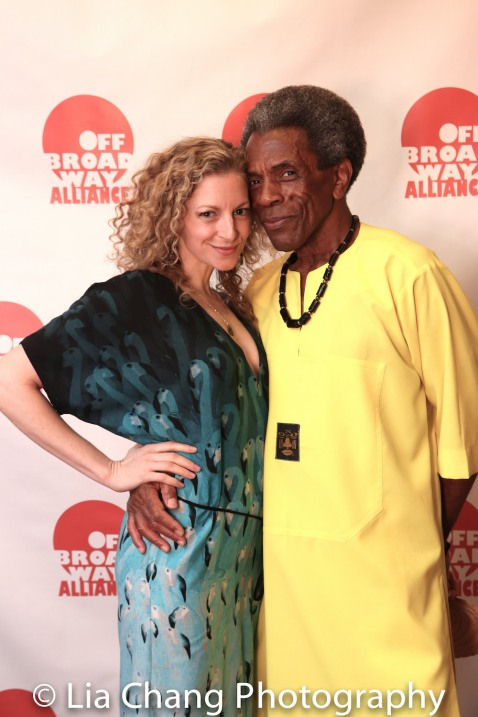 Lauren Molina and André De Shields. Photo by Lia Chang