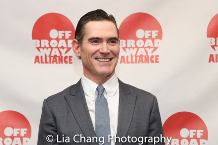 Billy Crudup wins the Off Broadway Alliance Award for Best Solo Performance for HARRY CLARKE. Photo by Lia Chang
