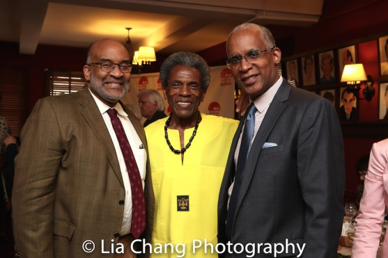 Michael Dinwiddie, André De Shields and Vincent Parham. Photo by Lia Chang