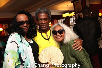 Freida Williams, André De Shields and Petra Schein. Photo by Lia Chang