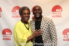 André De Shields and Douglas Lyons. Photo by Lia Chang
