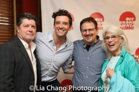 Michael McGrath, Michael urie, Jessie Bergen, Jamie deRoy. Photo by Lia Chang