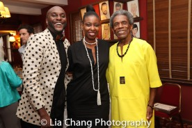 Douglas Lyons, Tamilla Woodard and André De Shields. Photo by Lia Chang