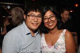 Mike Lew and Rehana Lew Mirza. Photo by Lia Chang