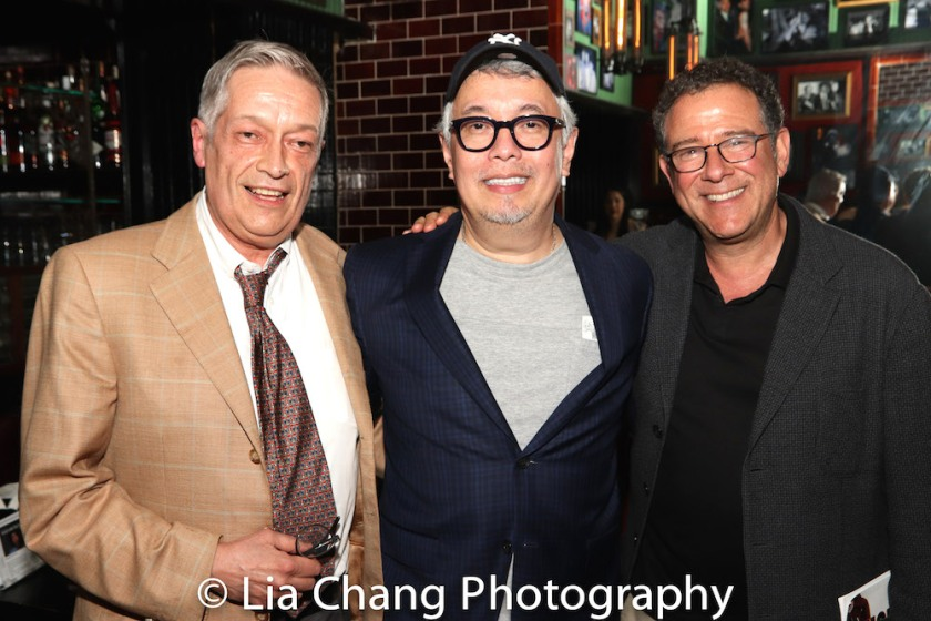 Jorge Ortoll, Ralph Peña, Michael Greif. Photo by Lia Chang