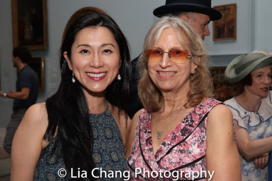 Dr. Agnes Hsu-Tang, trustee of the New-York Historical Society and Louise Mirrer, President and CEO, New-York Historical Society attend the Opening Reception For 'Celebrating Bill Cunningham' at New-York Historical Society on June 18, 2018. Photo by Lia Chang