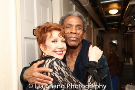 Donna McKechnie and André De Shields. Photo by Lia Chang