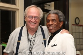 Doug Landram and André De Shields. Photo by Lia Chang
