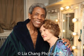 André De Shields and Joan Jeffri. Photo by Lia Chang